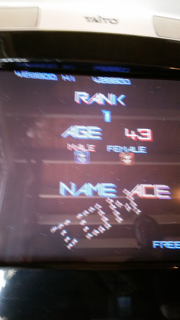 Dumple: Gradius II (Arcade) 428,800 points on 2019-04-14 00:14:15