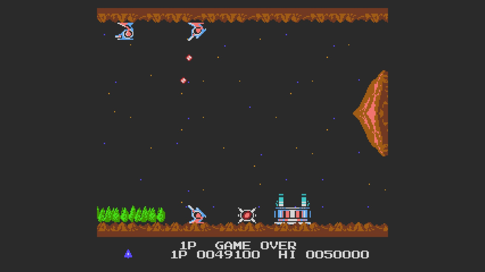 AkinNahtanoj: Gradius (NES/Famicom Emulated) 49,100 points on 2020-08-21 06:52:21