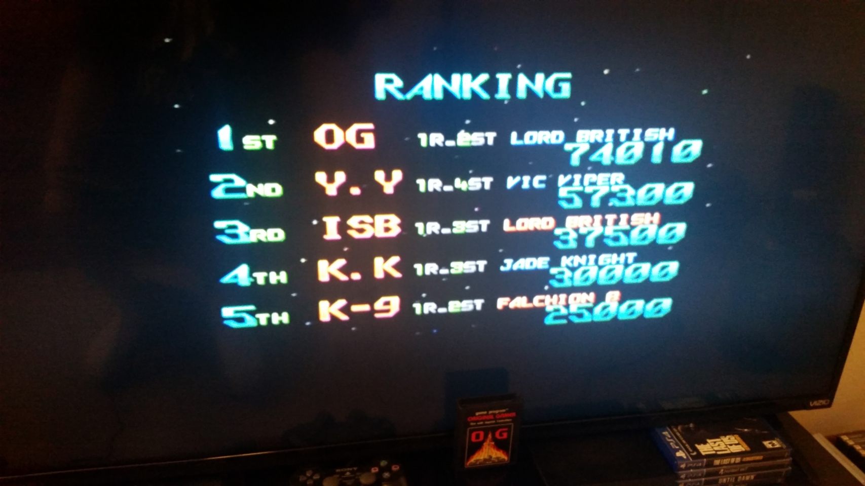 OriginalGamer: Gradius Portable [aka Gradius Collection]: Gradius Gaiden (PSP) 74,010 points on 2018-01-30 23:39:00