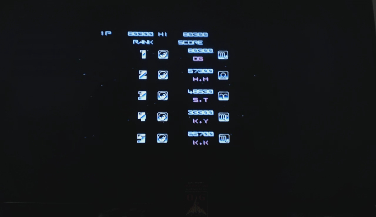 OriginalGamer: Gradius Portable [aka Gradius Collection]: Gradius (PSP) 80,300 points on 2018-01-30 23:32:45