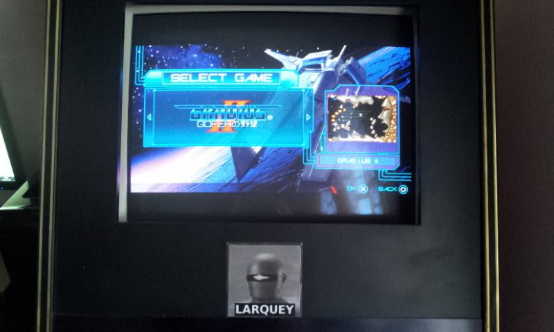 Larquey: Gradius Portable [aka Gradius Collection]: Gradius II (PSP Emulated) 64,500 points on 2018-04-03 14:28:57