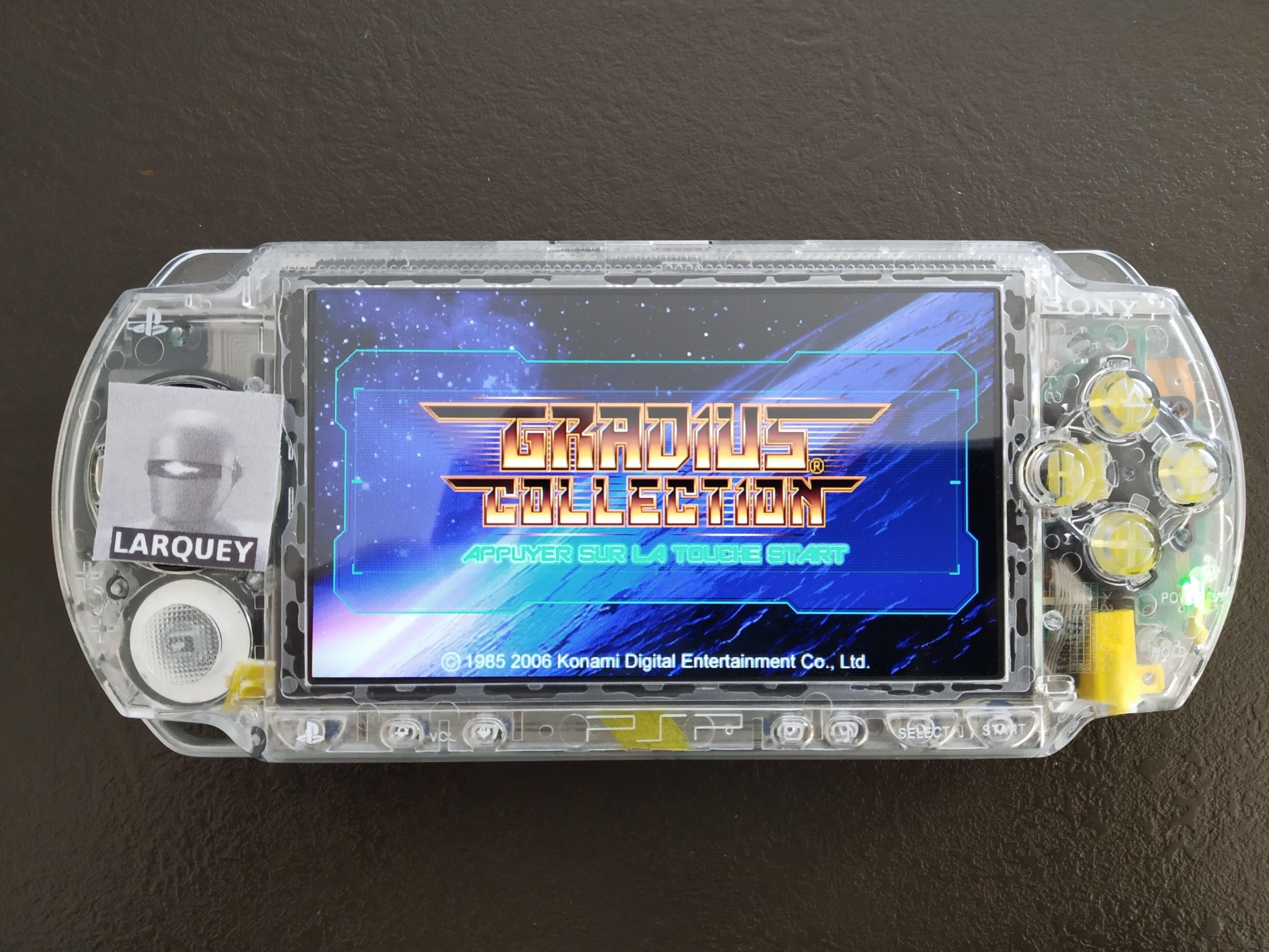 Larquey: Gradius Portable [aka Gradius Collection]: Gradius (PSP) 89,400 points on 2020-07-26 05:06:07