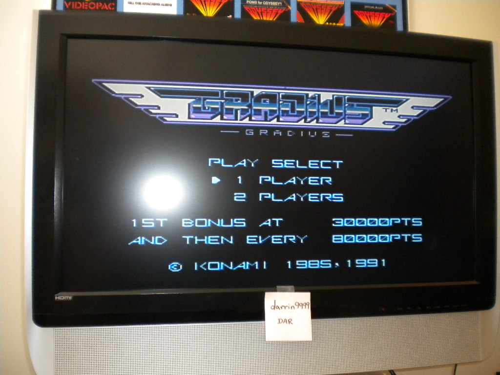 Gradius 41,300 points