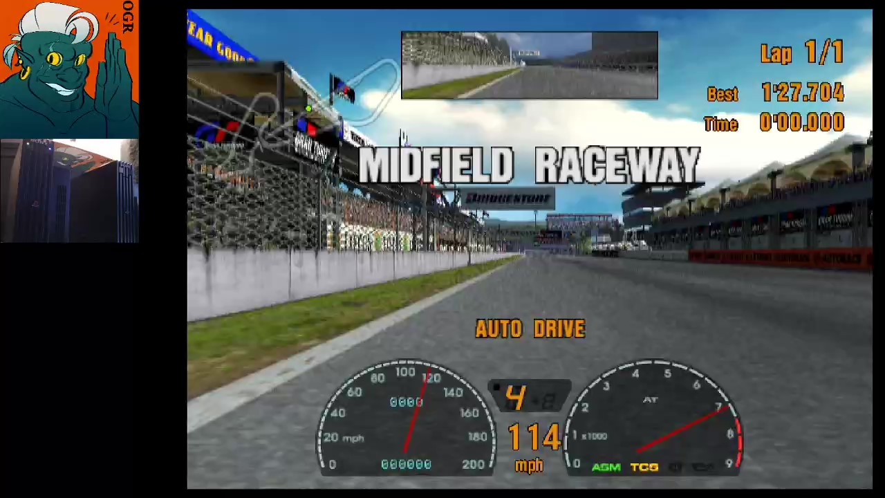 AwesomeOgre: Gran Turismo 3: A-Spec [Time Trial] [Mid-Field Raceway] (Playstation 2) 0:01:27.059 points on 2020-03-26 21:16:20