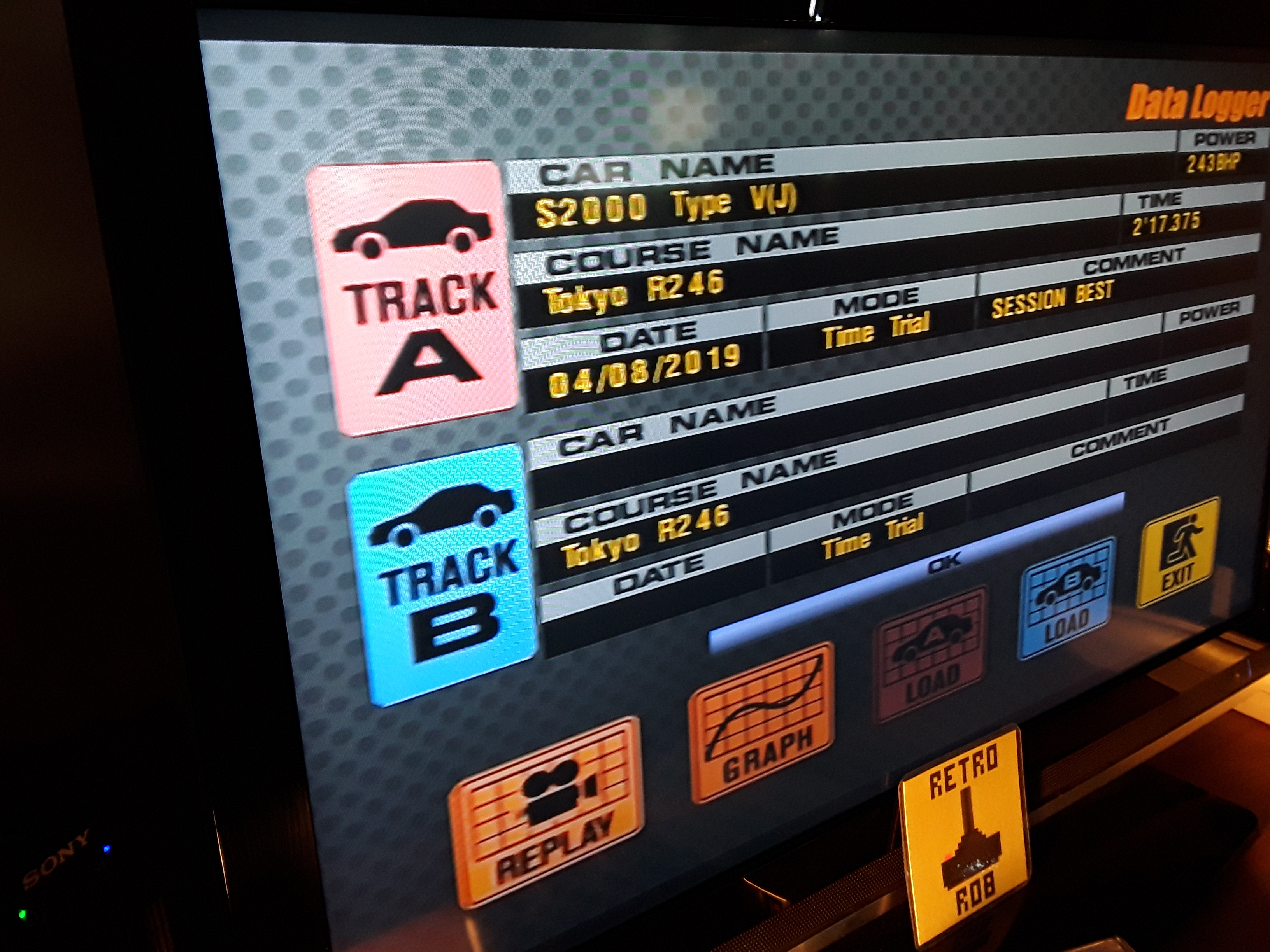 RetroRob: Gran Turismo 3: A-Spec [Time Trial] [Tokyo R246] (Playstation 2) 0:02:17.375 points on 2019-08-07 13:18:17