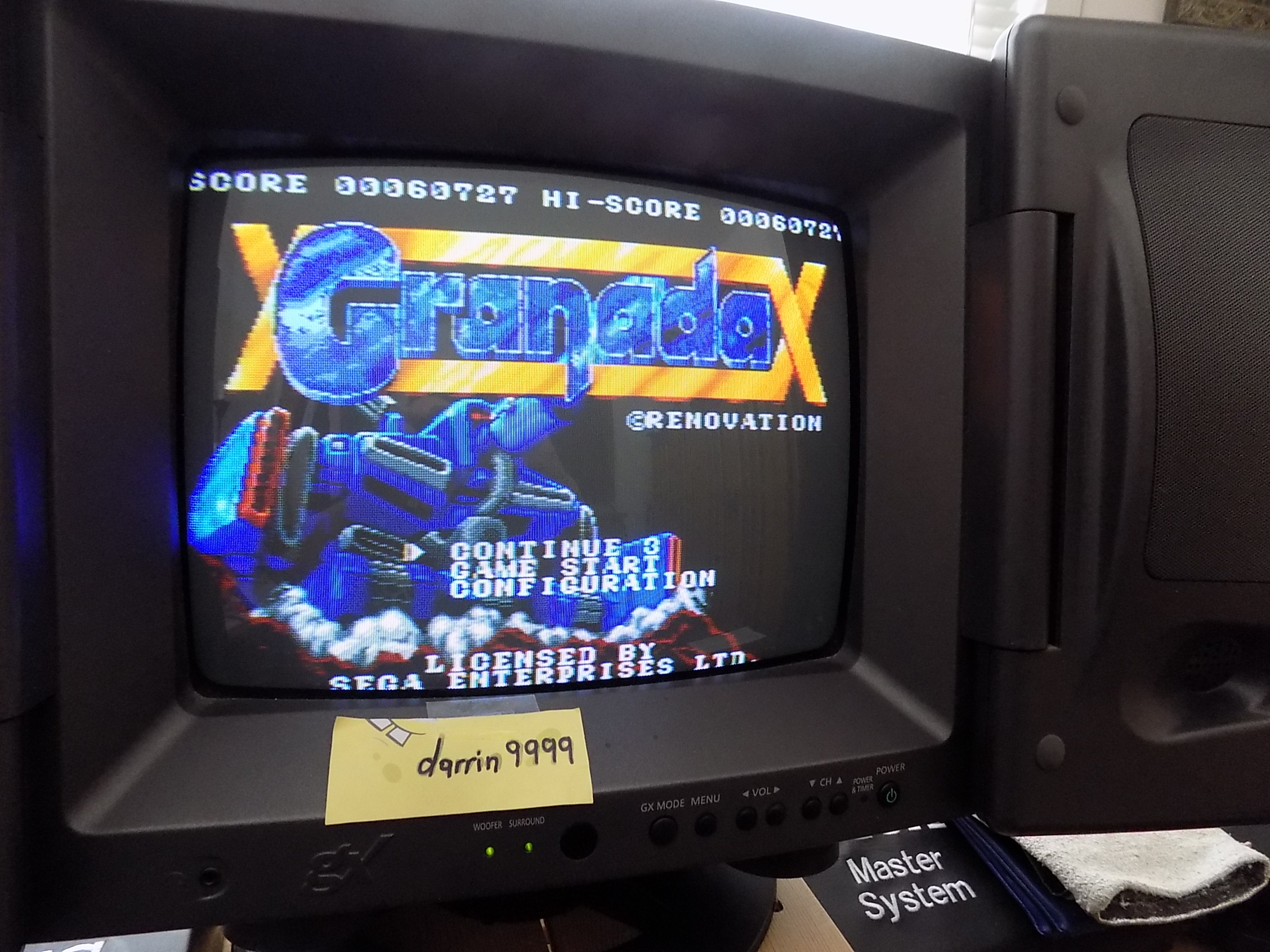darrin9999: Granada [Easy / 3 Lives] (Sega Genesis / MegaDrive) 60,727 points on 2019-04-06 13:41:19