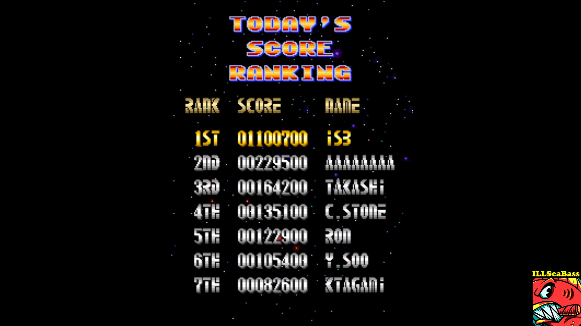 ILLSeaBass: Grand Cross (Arcade Emulated / M.A.M.E.) 1,100,700 points on 2017-10-20 23:50:20