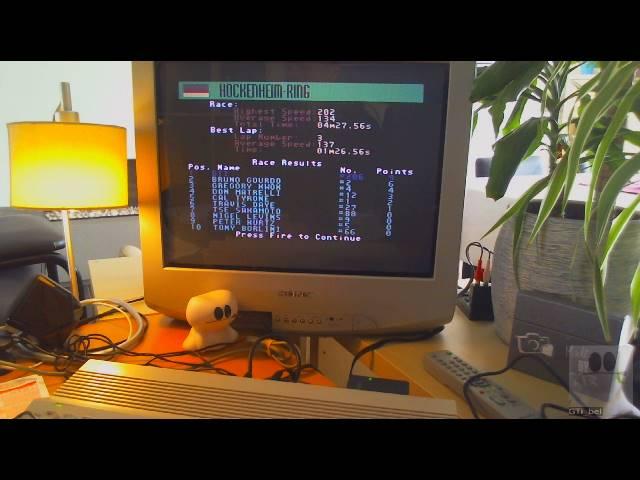 GTibel: Grand Prix Circuit [Hockenheim-Ring] [Best Lap] (Commodore 64) 0:01:26.56 points on 2019-05-18 03:05:46