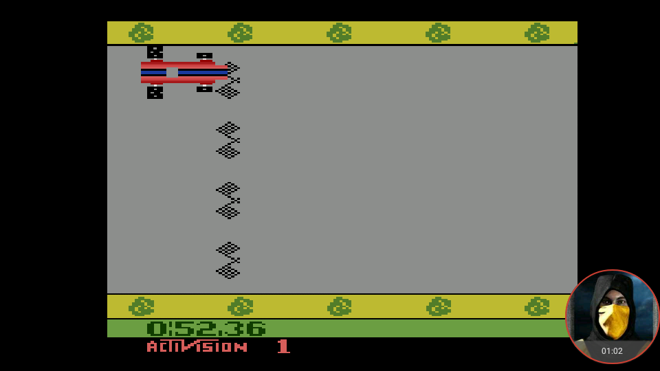 omargeddon: Grand Prix: Game 1 (Atari 2600 Emulated Expert/A Mode) 0:00:52.36 points on 2018-05-31 21:36:56