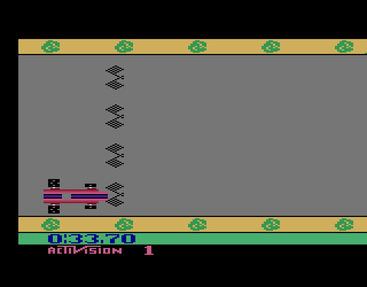 TheTrickster: Grand Prix: Game 1 (Atari 2600 Emulated Novice/B Mode) 0:00:33.7 points on 2016-08-17 07:48:43