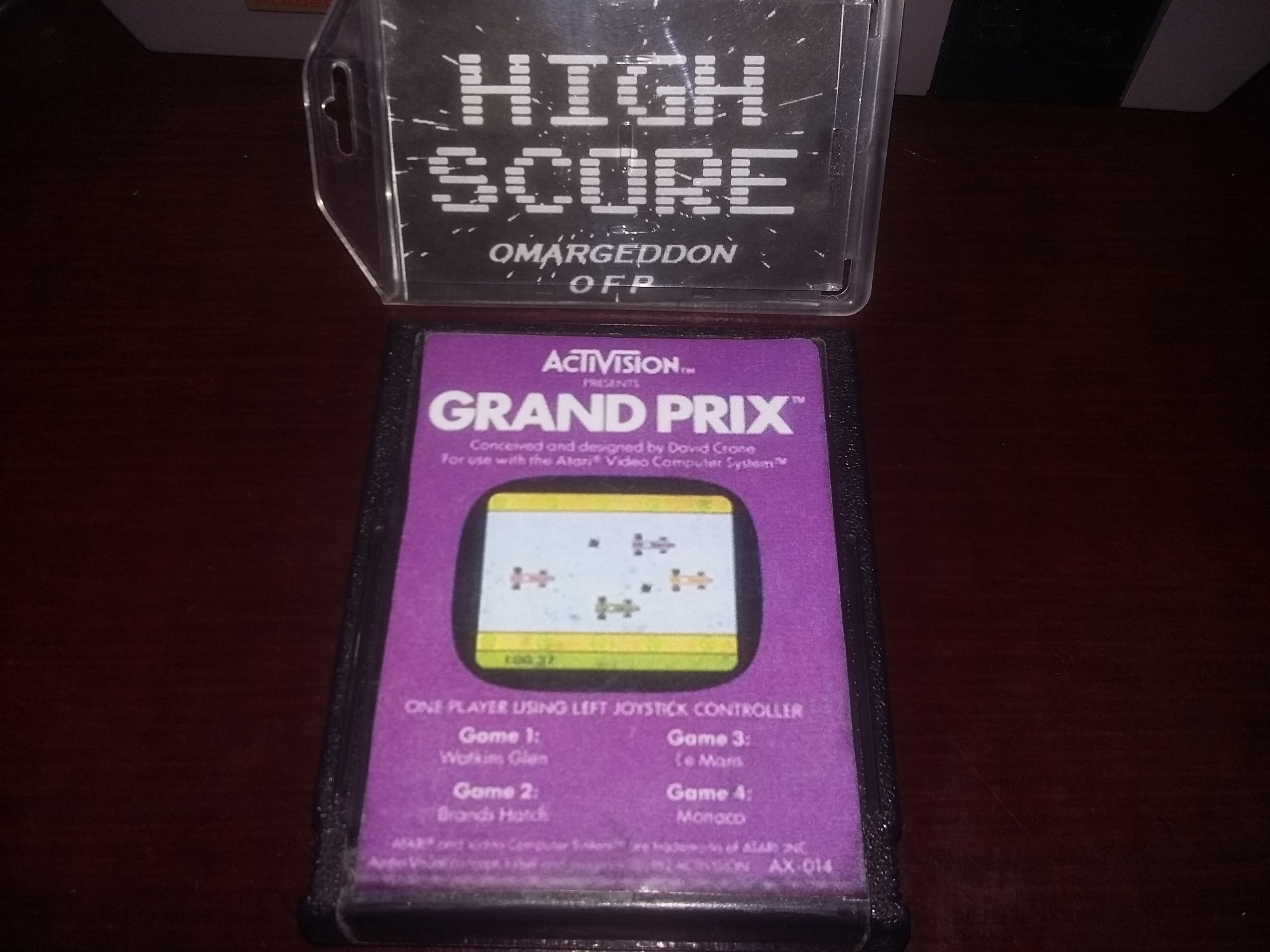 Grand Prix: Game 2 time of 0:01:14.47