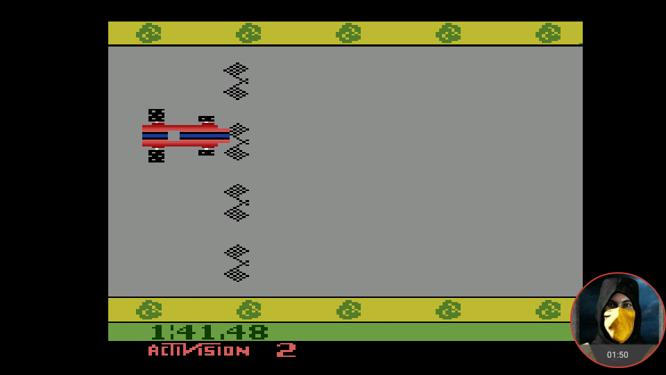 omargeddon: Grand Prix: Game 2 (Atari 2600 Emulated Expert/A Mode) 0:01:41.48 points on 2018-05-31 21:37:36