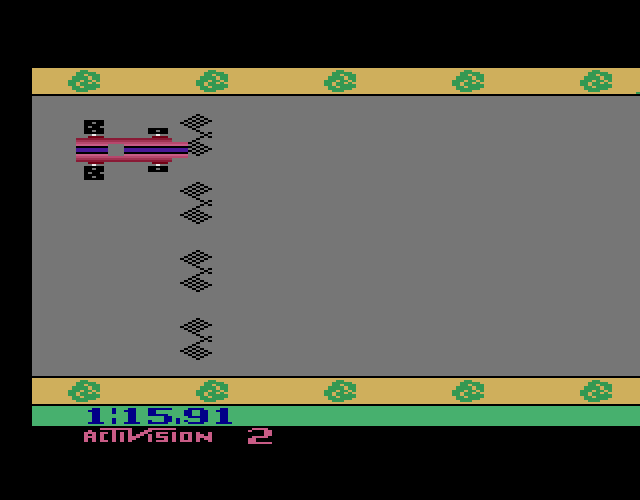 TheTrickster: Grand Prix: Game 2 (Atari 2600 Emulated Novice/B Mode) 0:01:15.91 points on 2016-08-17 07:50:39