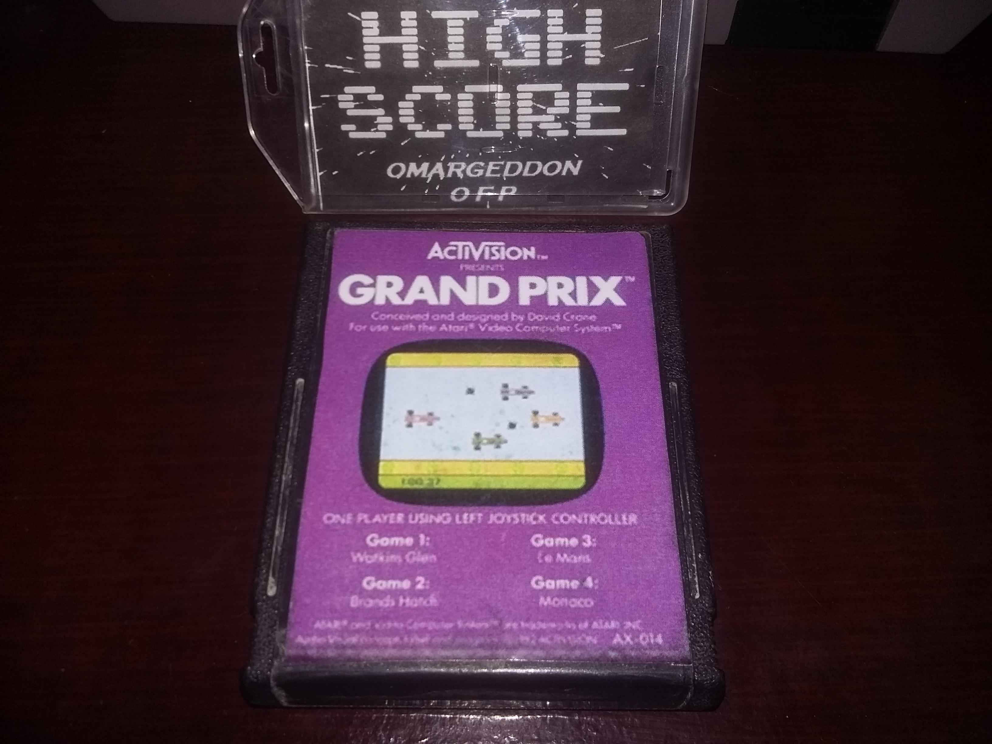 omargeddon: Grand Prix: Game 3 (Atari 2600 Novice/B) 0:01:55.16 points on 2016-12-20 00:52:29