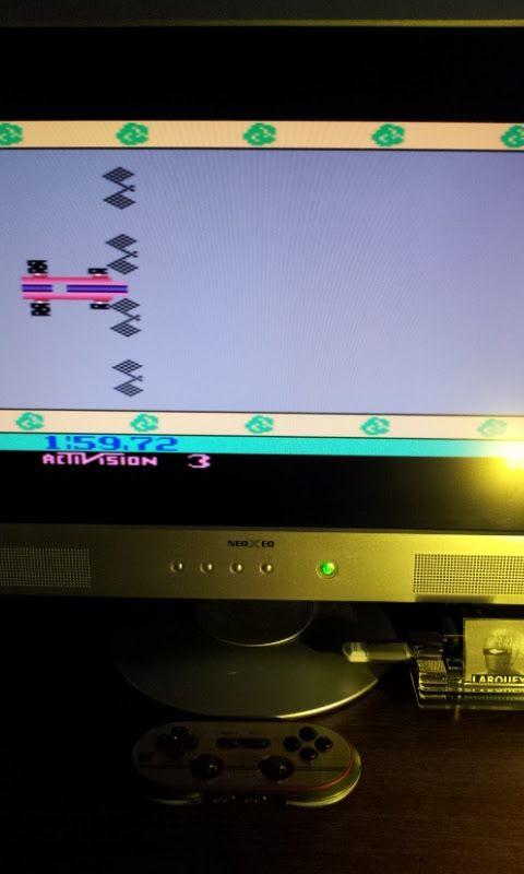 Larquey: Grand Prix: Game 3 (Atari 2600 Emulated Novice/B Mode) 0:01:59.72 points on 2017-01-29 10:40:32