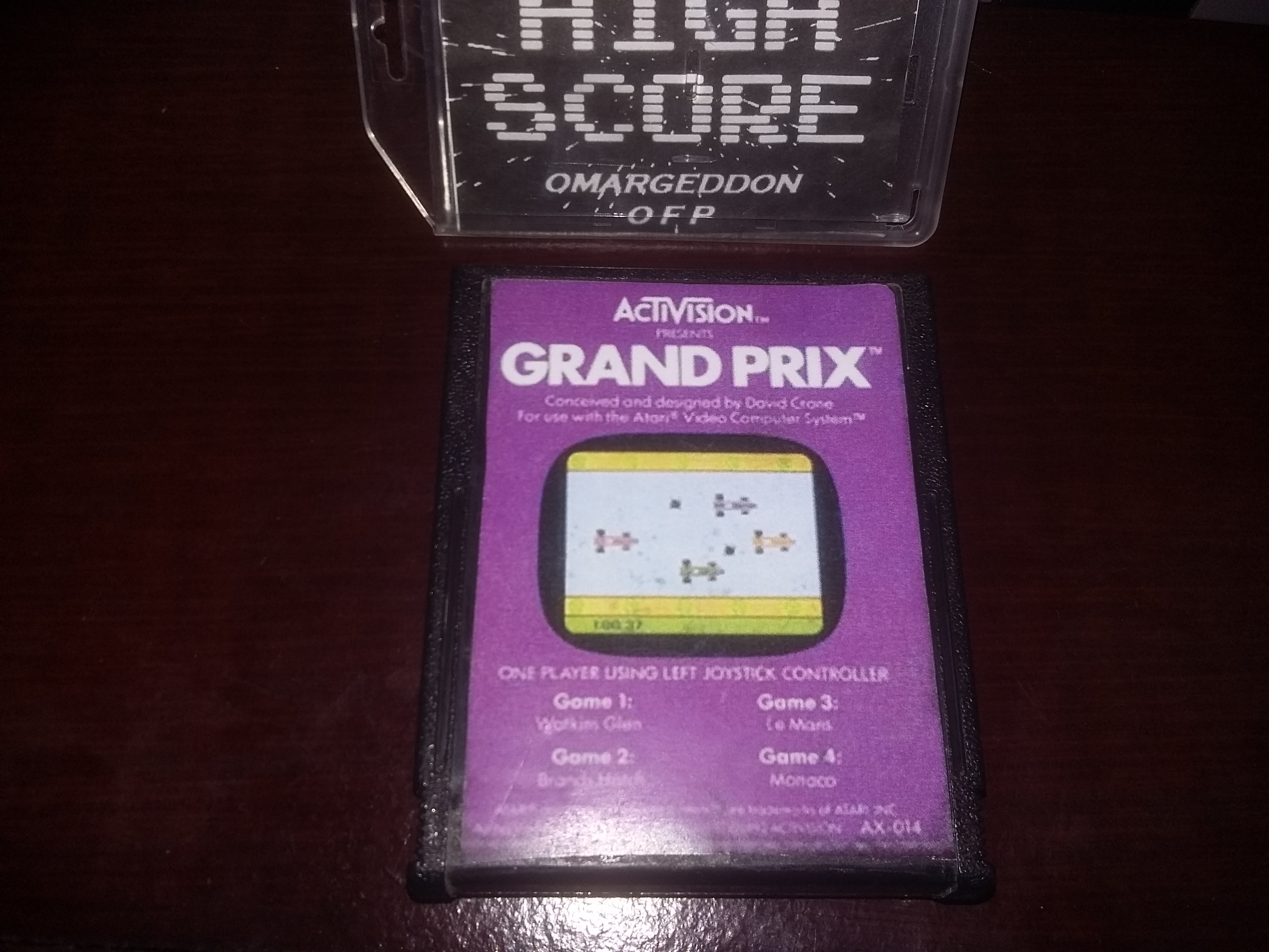 Grand Prix: Game 4 time of 0:02:39.51