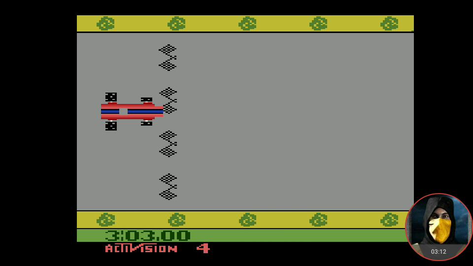 omargeddon: Grand Prix: Game 4 (Atari 2600 Emulated Expert/A Mode) 0:03:03 points on 2018-05-31 21:38:45
