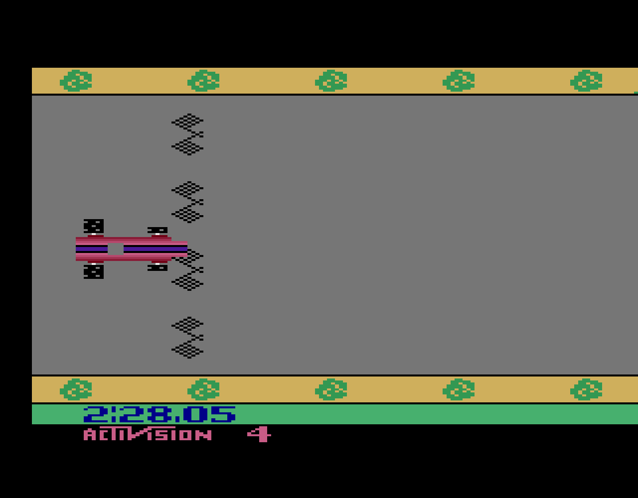 TheTrickster: Grand Prix: Game 4 (Atari 2600 Emulated Novice/B Mode) 0:02:28.05 points on 2016-08-17 07:53:00