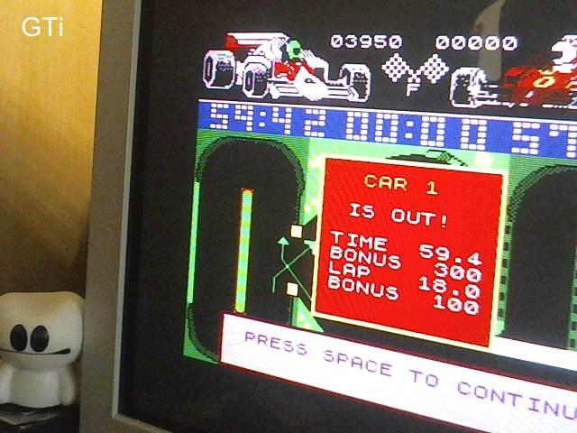 GTibel: Grand Prix Simulator (ZX Spectrum) 3,950 points on 2017-08-17 02:16:39