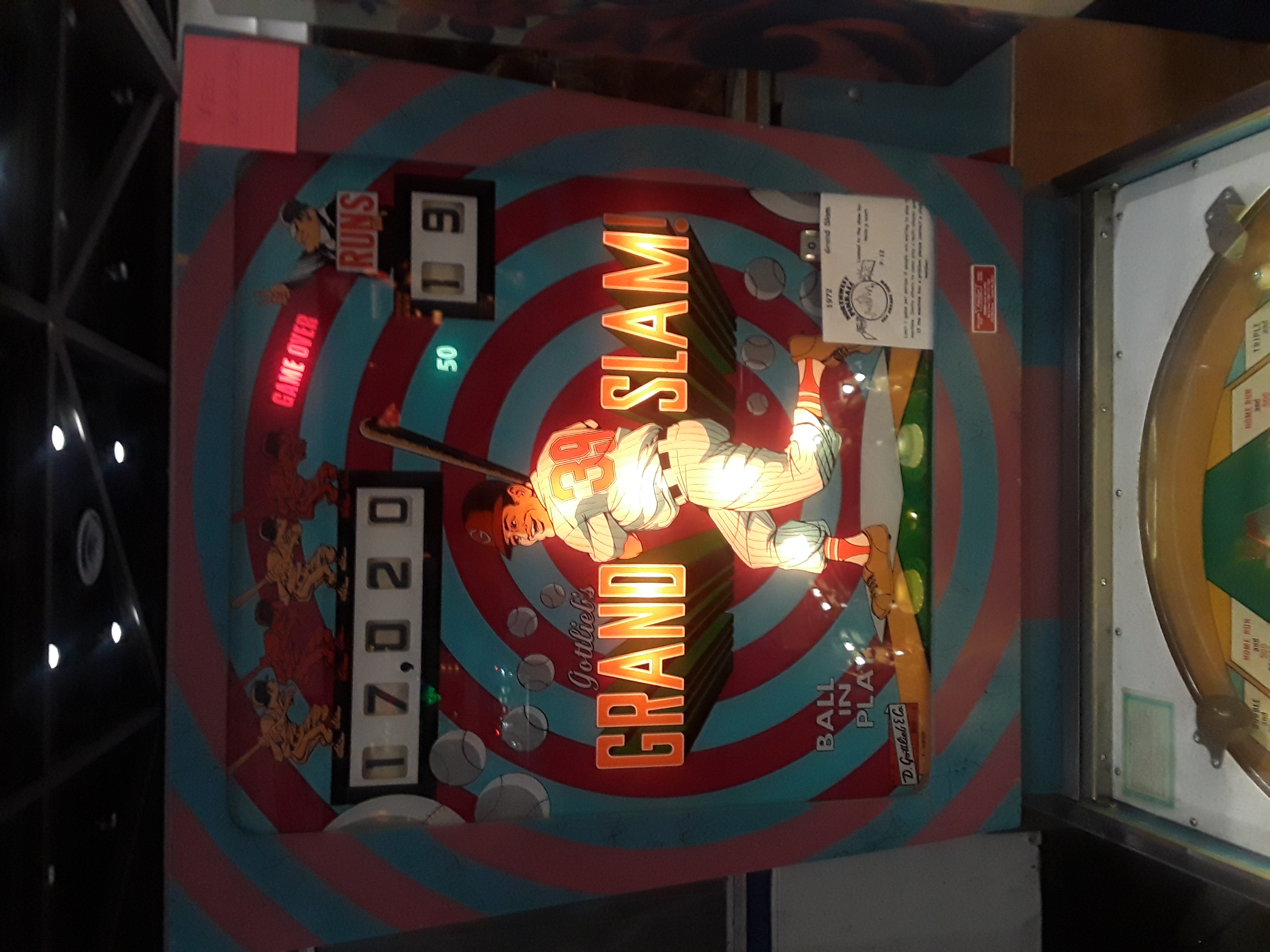 Grand Slam [Bally Midway] 17,020 points