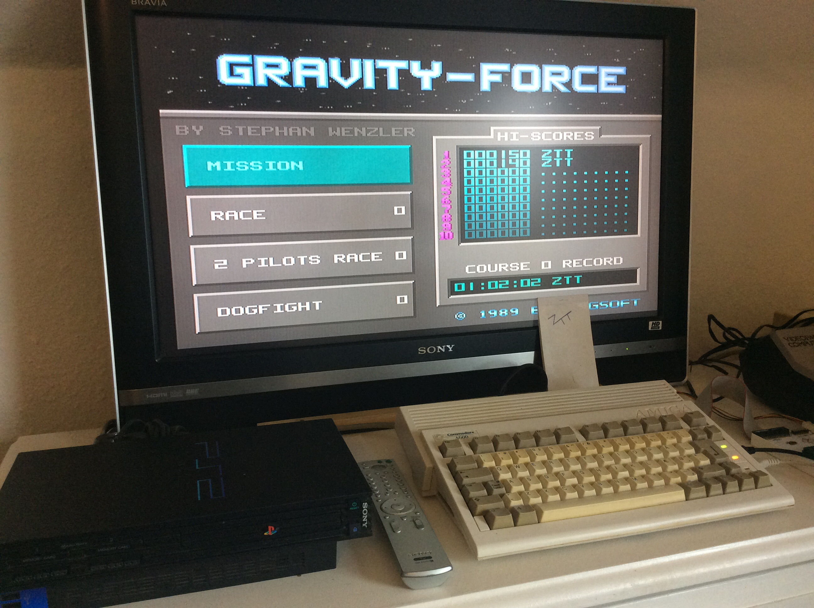 Frankie: Gravity Force [Mission] (Amiga) 150 points on 2016-08-11 11:18:12