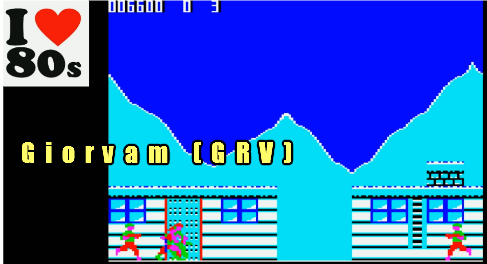 Giorvam: Green Beret (BBC Micro Emulated) 6,600 points on 2018-01-21 02:55:55