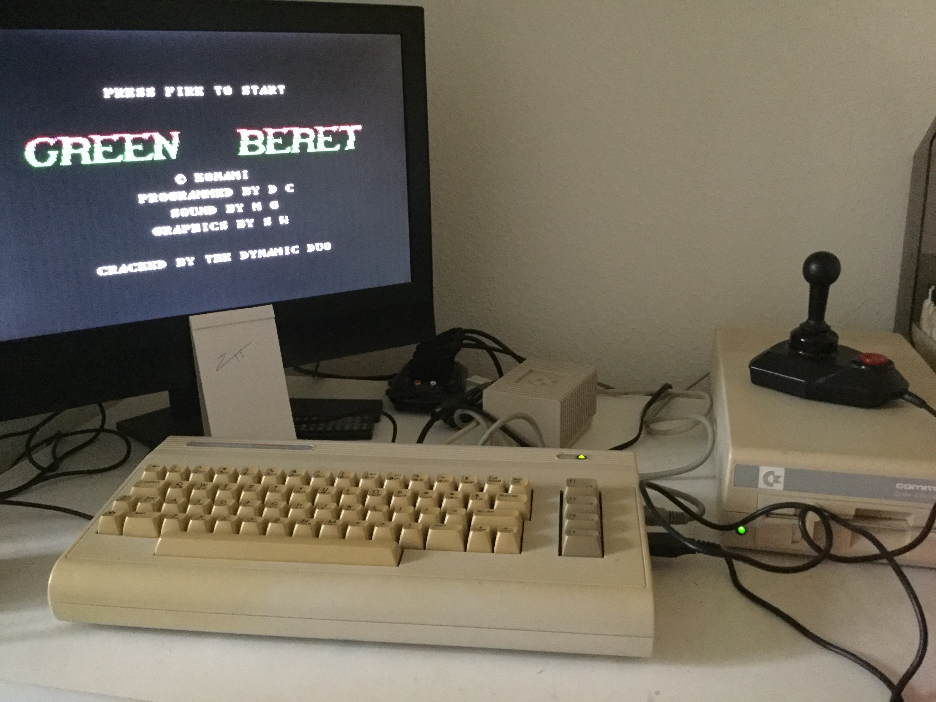 Frankie: Green Beret (Commodore 64) 72,800 points on 2021-03-29 02:23:14
