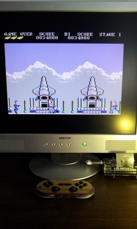 Larquey: Green Beret (Commodore 64 Emulated) 34,000 points on 2017-02-17 09:56:45