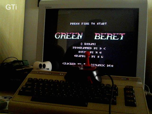 GTibel: Green Beret (Commodore 64) 92,420 points on 2017-04-29 01:52:08