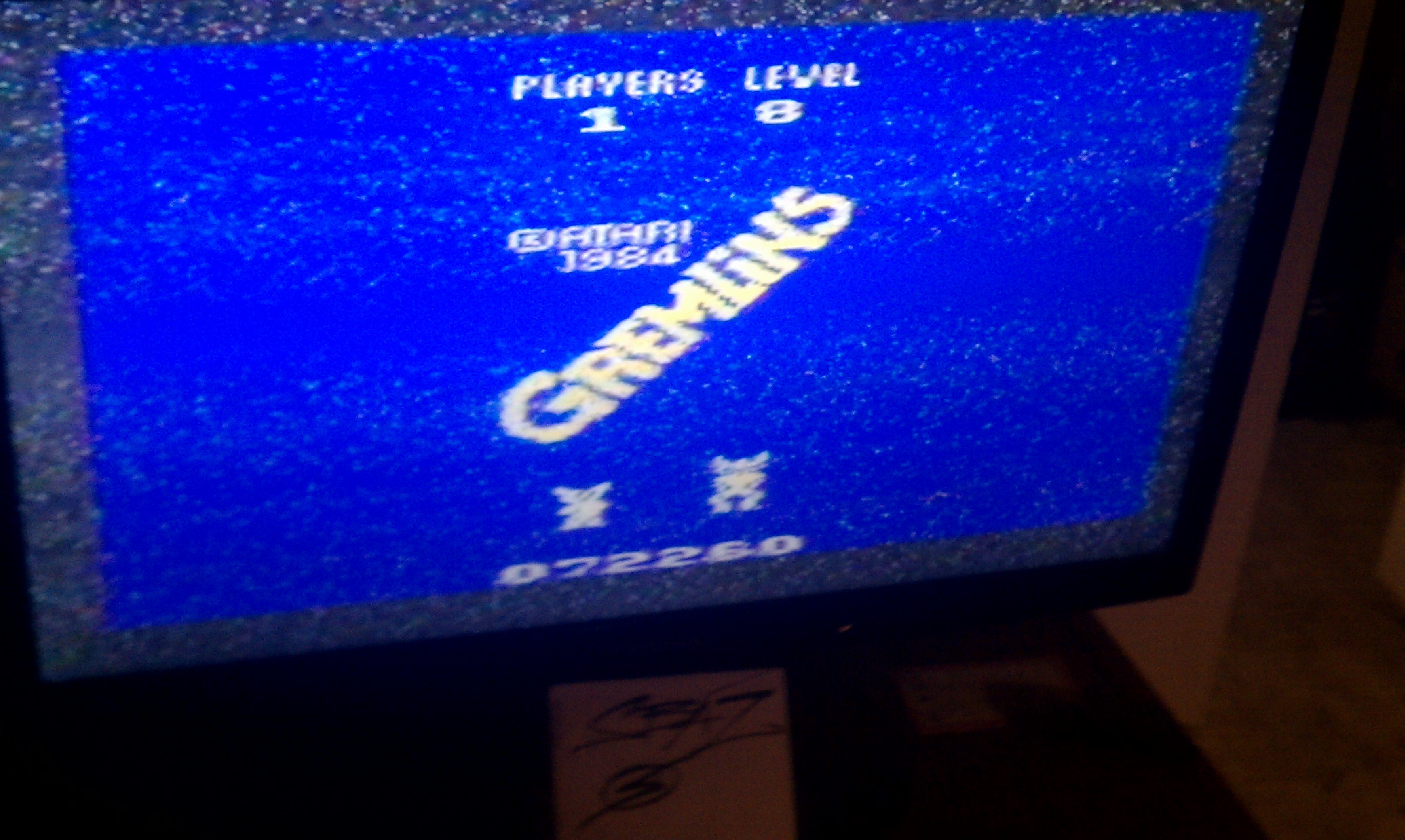 S.BAZ: Gremlins (Atari 2600 Novice/B) 72,260 points on 2016-03-26 01:47:03