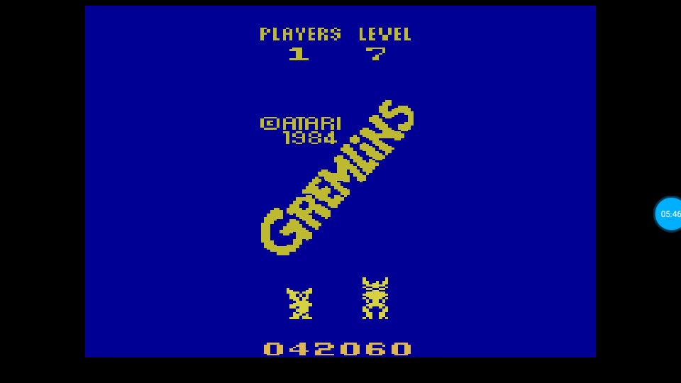 omargeddon: Gremlins (Atari 2600 Emulated Expert/A Mode) 42,060 points on 2018-07-13 13:57:18