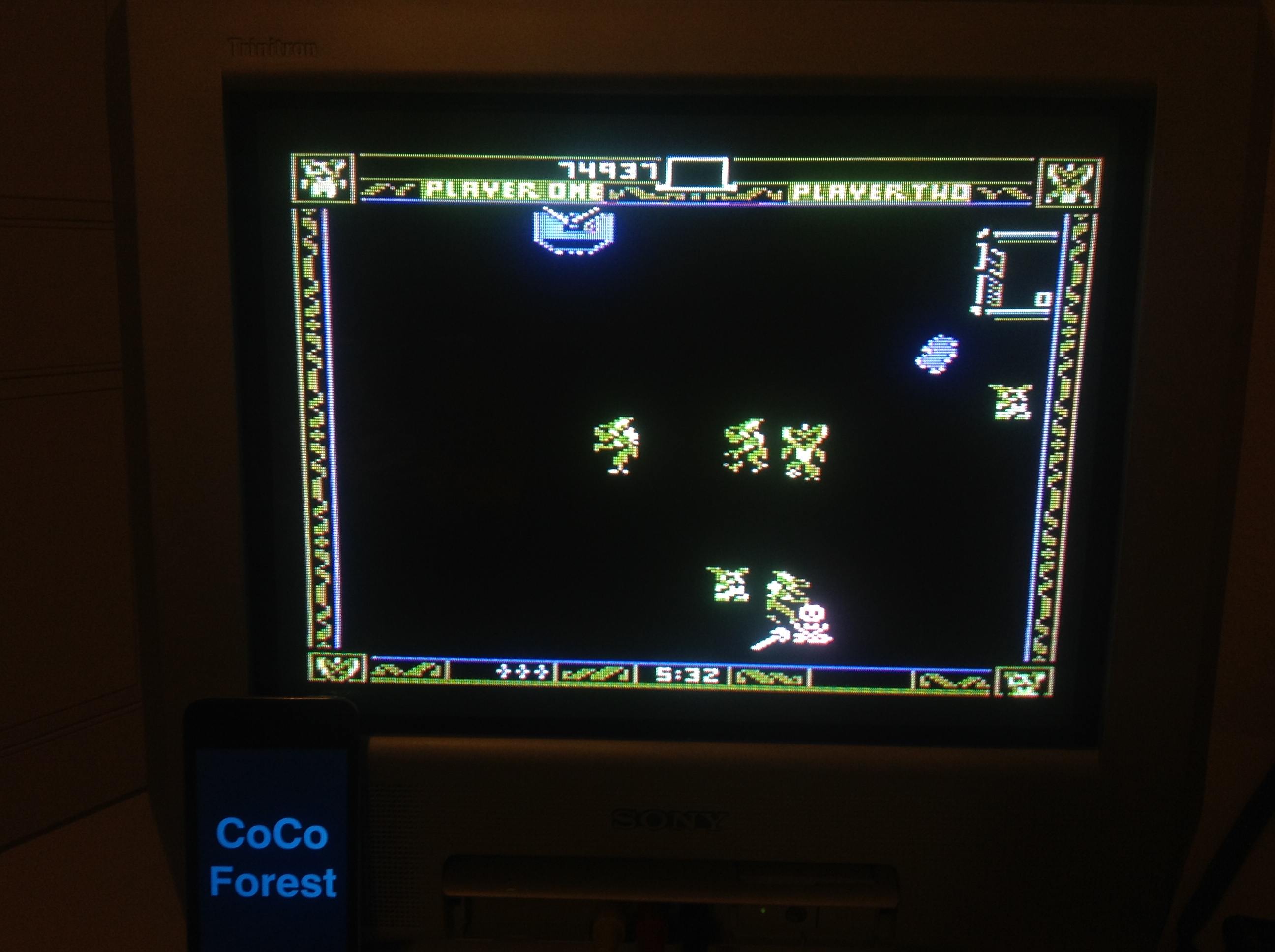 CoCoForest: Gremlins (Atari 5200) 74,937 points on 2015-11-08 11:44:18