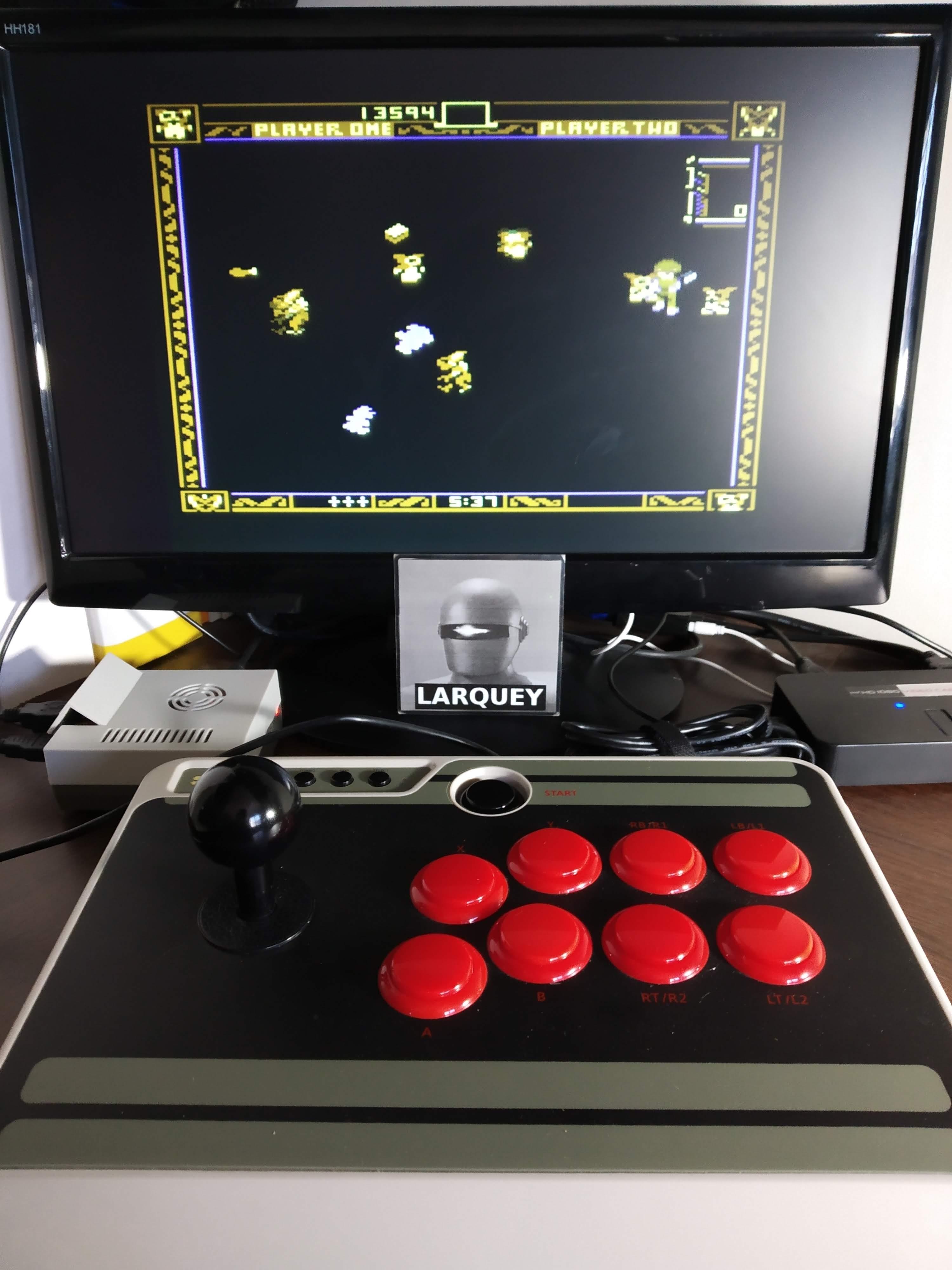 Larquey: Gremlins (Atari 5200 Emulated) 13,594 points on 2019-11-11 11:18:59
