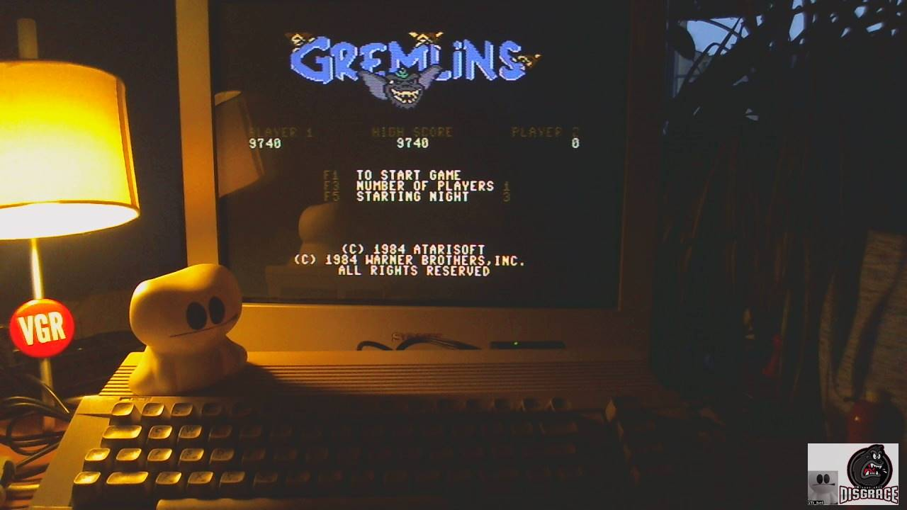 GTibel: Gremlins (Commodore 64) 9,740 points on 2020-02-05 10:28:45