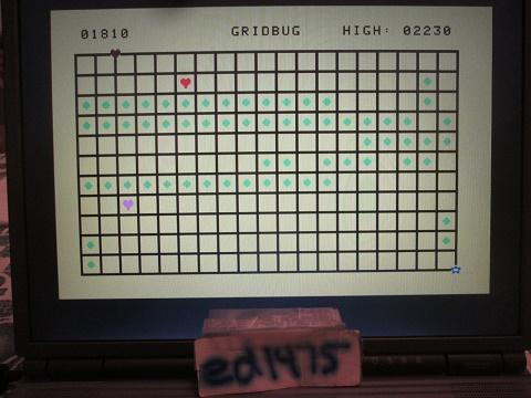 ed1475: Gridbug (Aquarius Emulated) 2,230 points on 2019-03-29 20:20:45