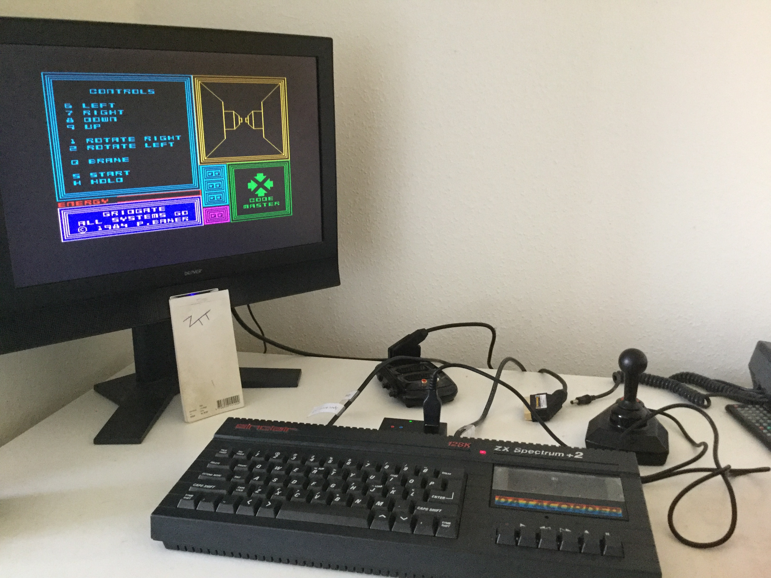 Frankie: Gridgate (ZX Spectrum) 960 points on 2020-03-08 03:33:34