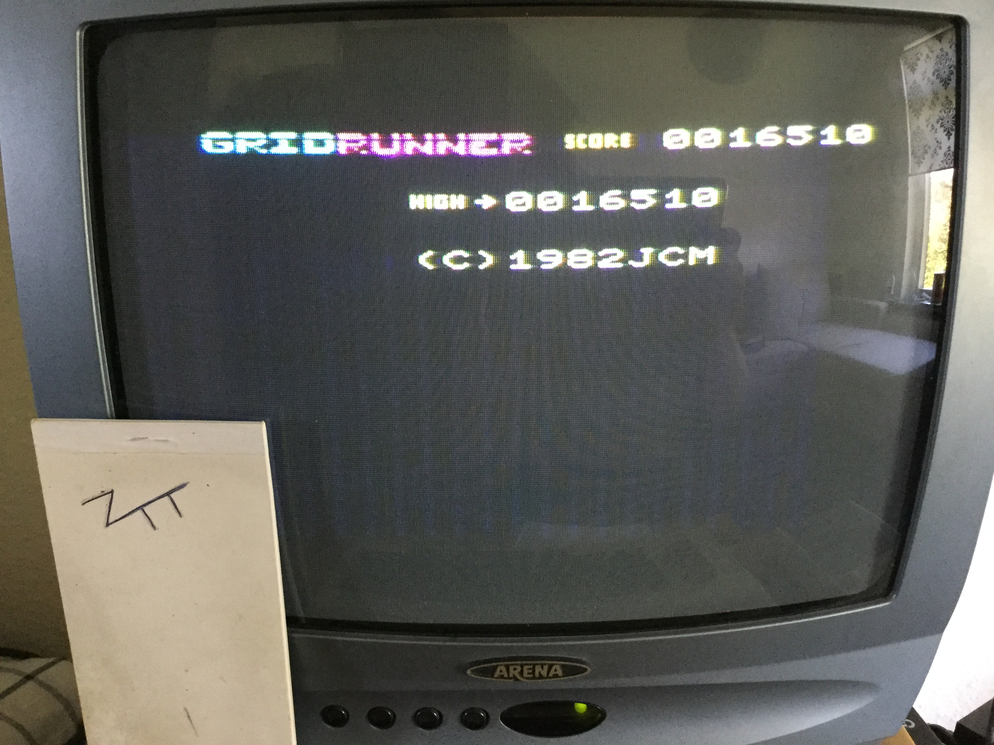 Frankie: Gridrunner (Commodore VIC-20) 16,510 points on 2018-10-19 04:58:39
