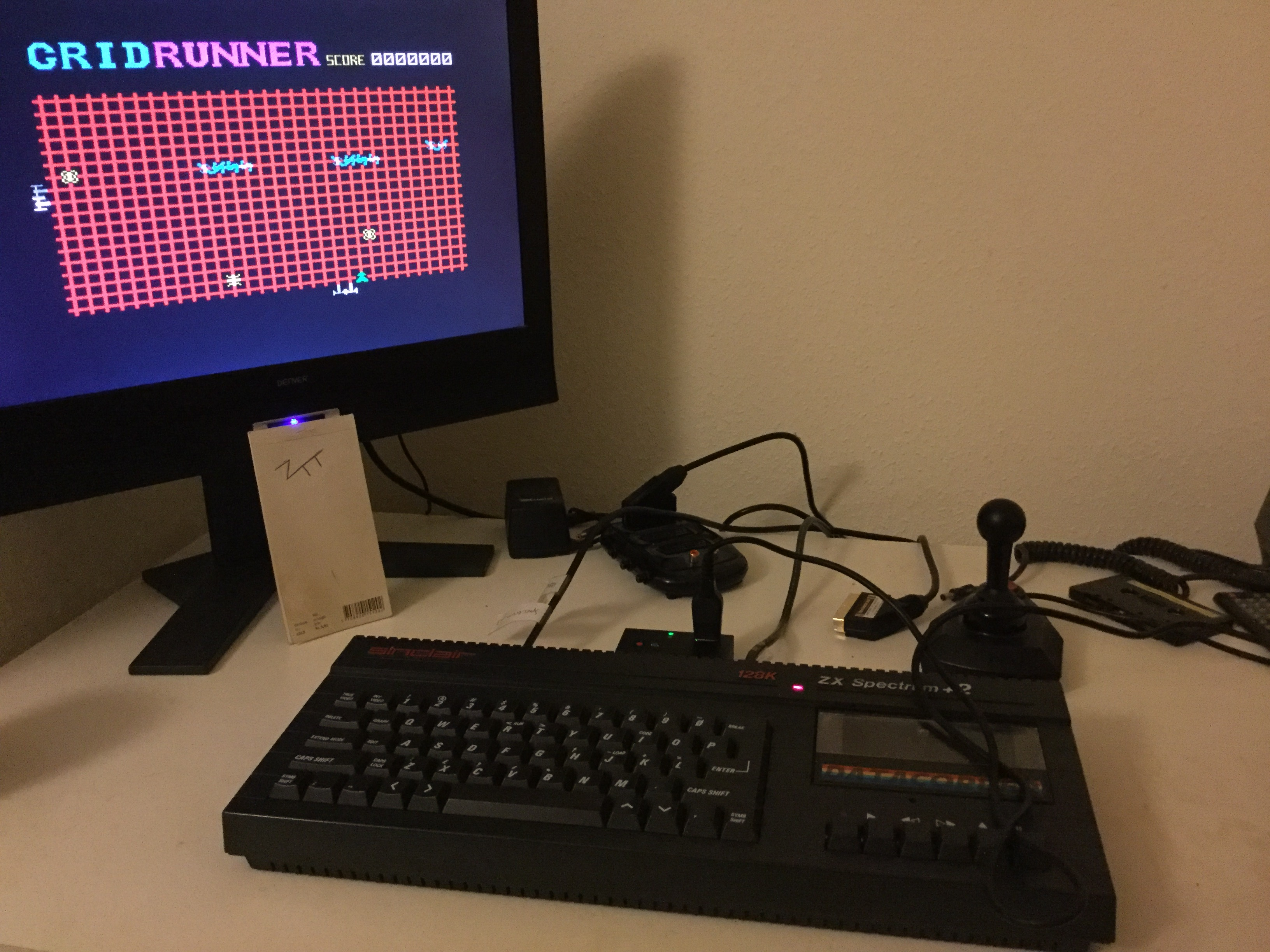 Frankie: Gridrunner (ZX Spectrum) 16,720 points on 2020-02-21 03:07:13