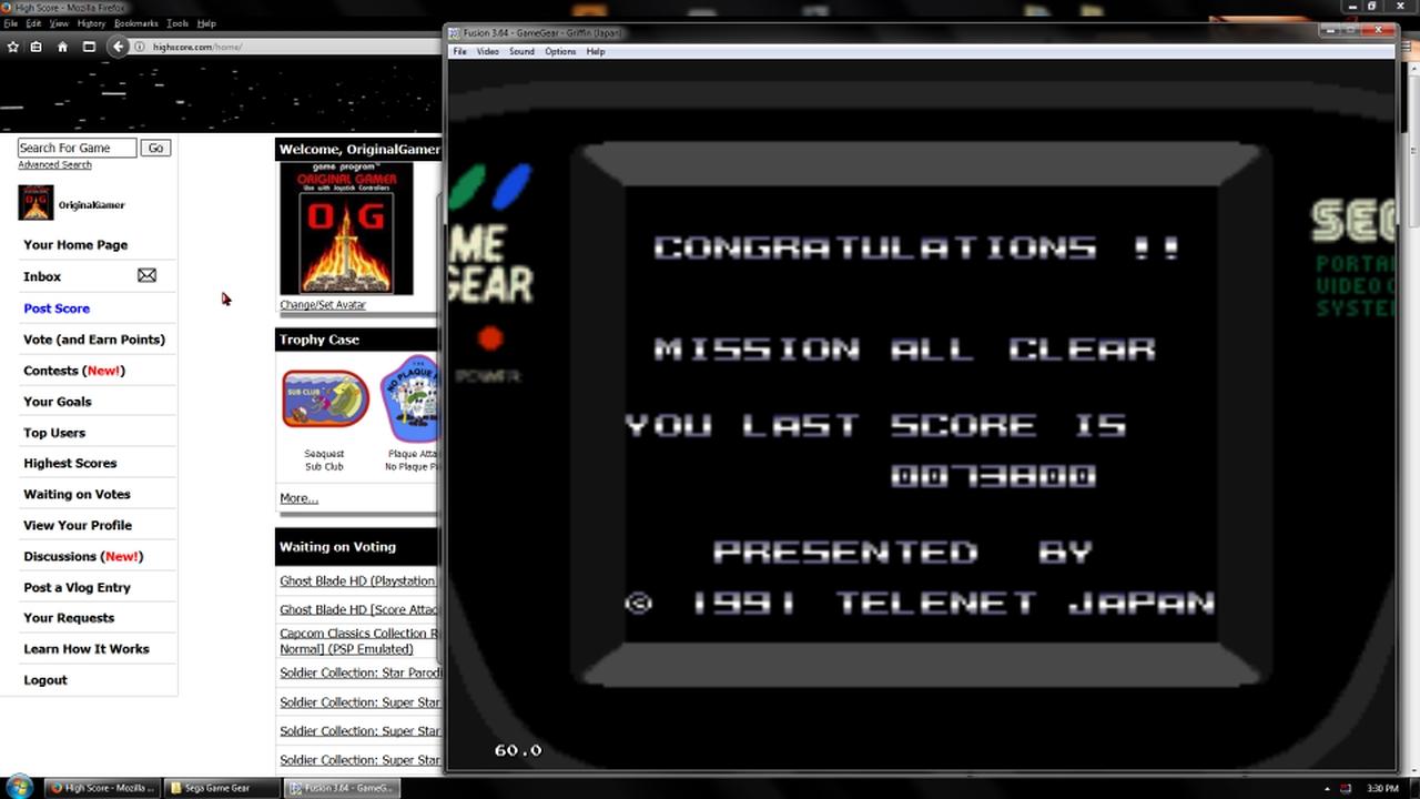 OriginalGamer: Griffin (Sega Game Gear Emulated) 73,800 points on 2018-03-15 17:29:40