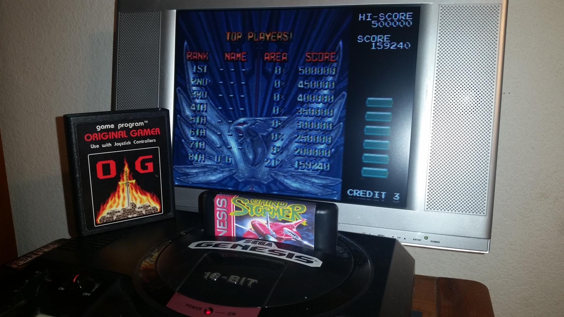 OriginalGamer: Grind Stormer [Moderate] (Sega Genesis / MegaDrive) 159,240 points on 2016-11-17 01:10:42
