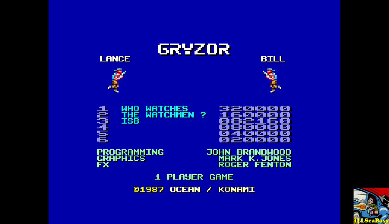 Gryzor 82,160 points