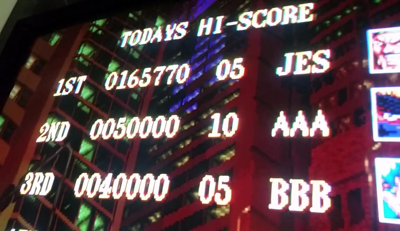 JES: Guardians / Denjin Makai II [grdians] (Arcade Emulated / M.A.M.E.) 165,770 points on 2017-04-19 13:01:53