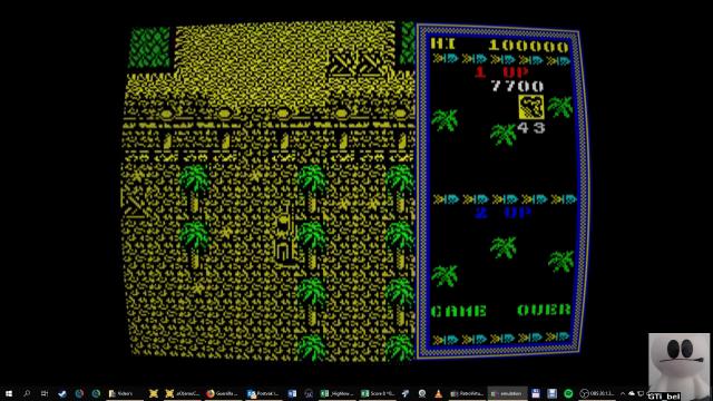 GTibel: Guerilla War (ZX Spectrum Emulated) 7,700 points on 2019-01-25 03:12:32