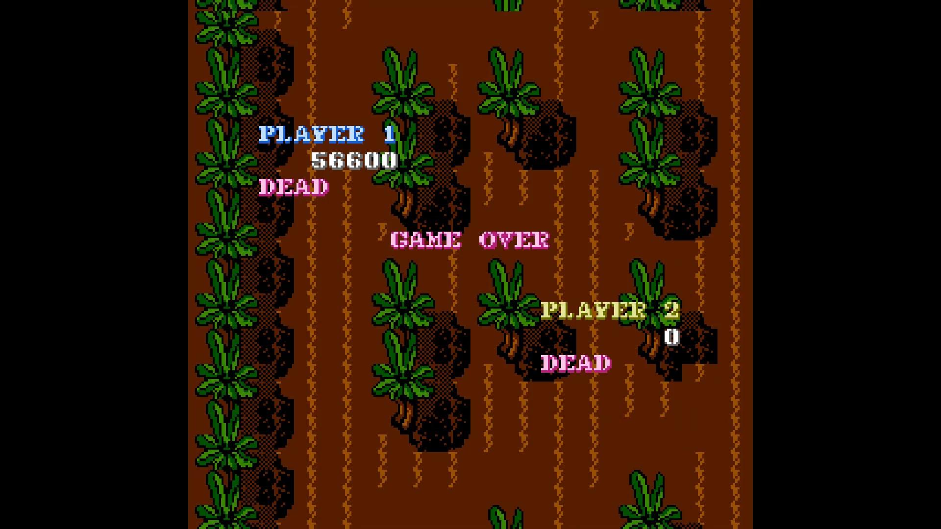 AkinNahtanoj: Guerrilla War (NES/Famicom Emulated) 56,600 points on 2020-10-25 05:05:02