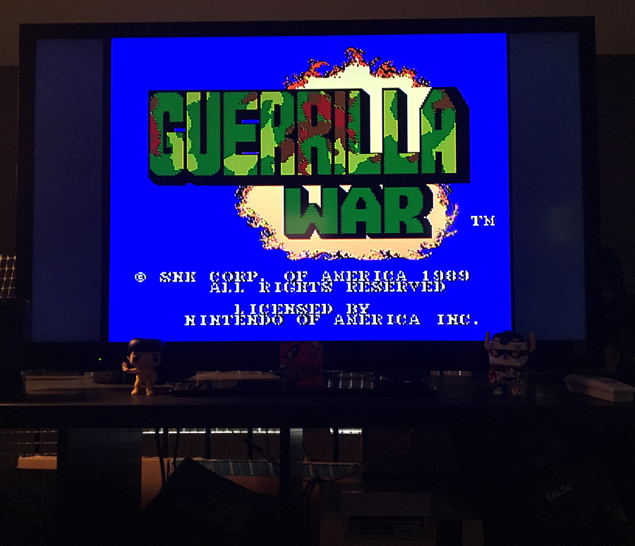 ILLSeaBass: Guerrilla War (NES/Famicom) 186,500 points on 2017-08-12 11:57:19