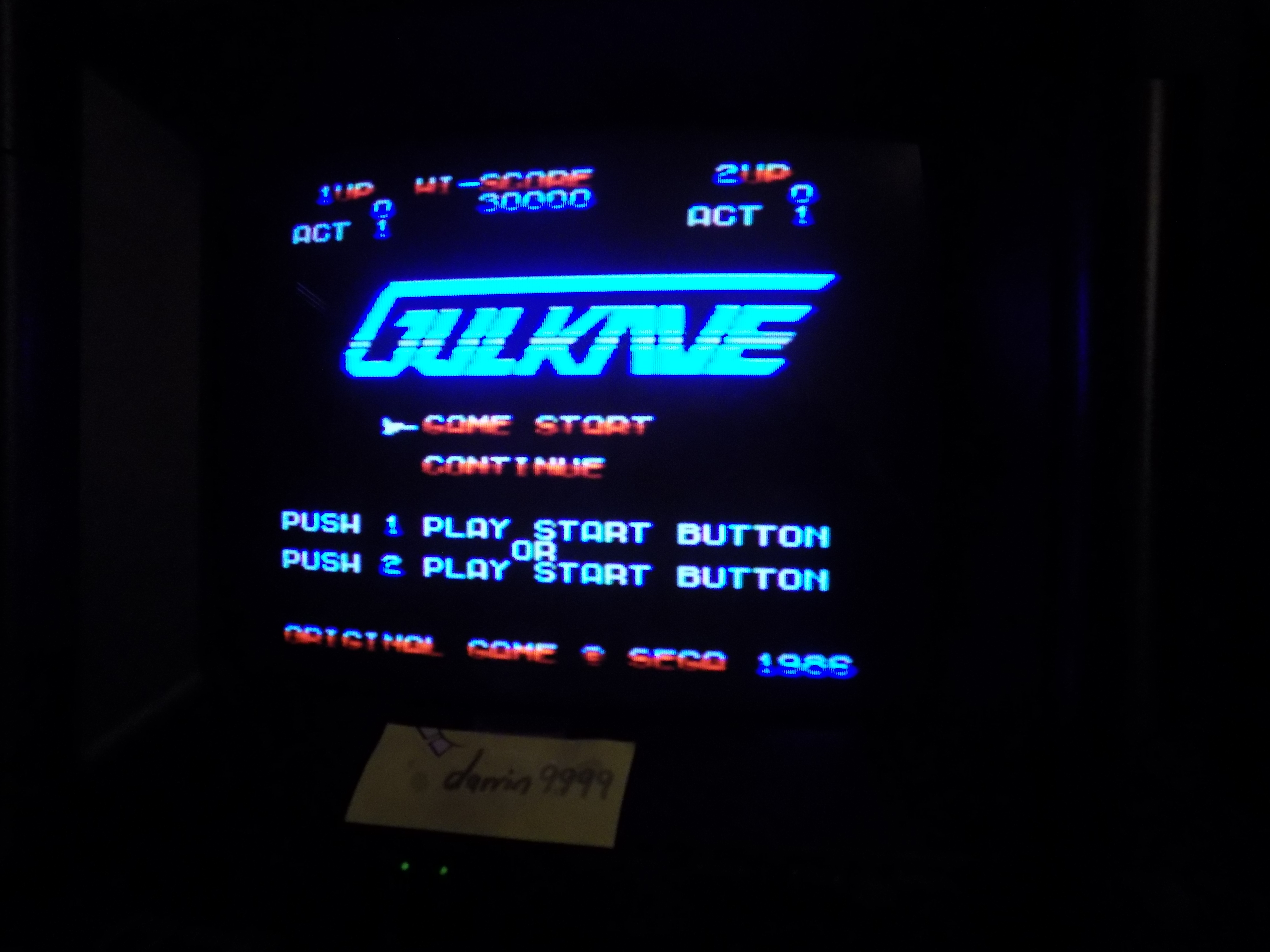 darrin9999: Gulkave (Sega SG-1000) 84,590 points on 2017-01-19 16:26:28