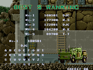 derek: Gun Force: Battle Fire Engulfed Terror Island [gunforce] (Arcade Emulated / M.A.M.E.) 180,501 points on 2016-02-23 19:48:00