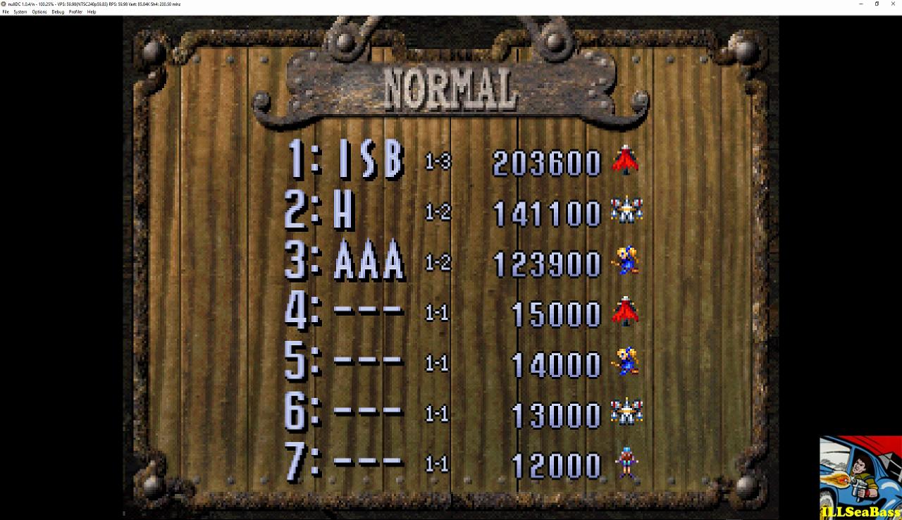 ILLSeaBass: Gunbird 2 (Dreamcast Emulated) 203,600 points on 2016-12-06 21:24:00