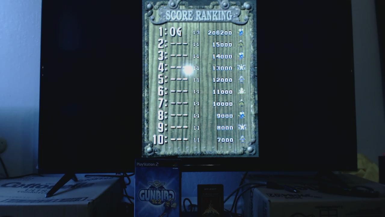 OriginalGamer: Gunbird 2 (Playstation 2) 206,200 points on 2015-11-23 18:44:20