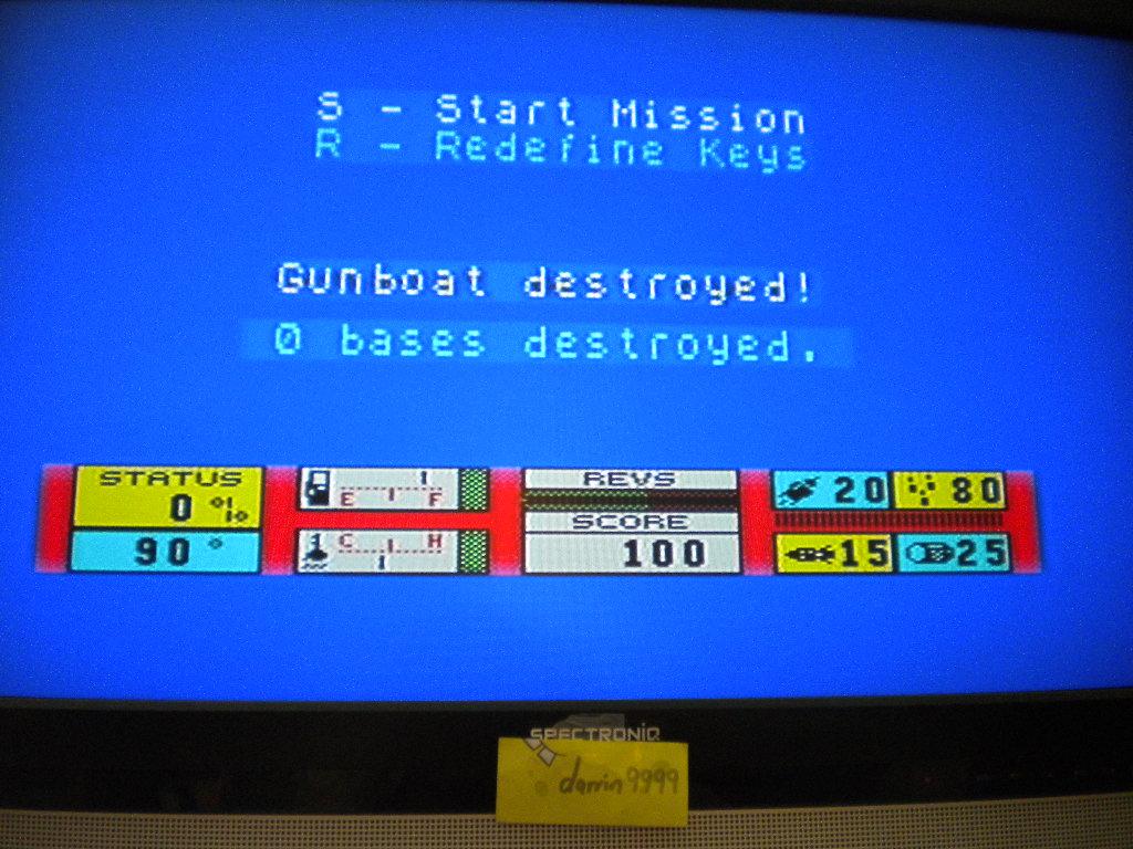 Gunboat [Piranha] 100 points